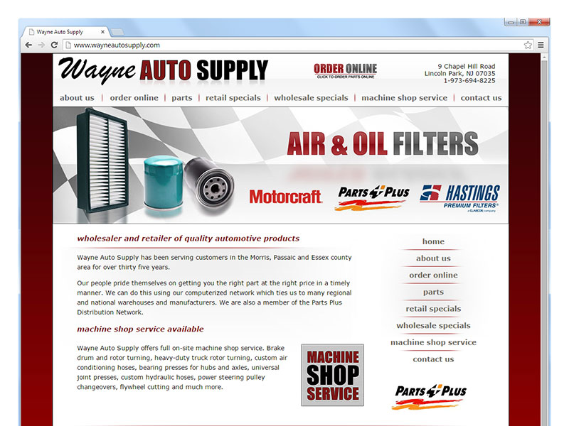 Wayne Auto Supply